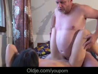 brunette, young, pussy licking, blowjob