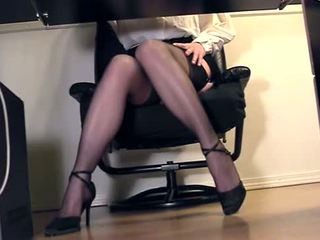 tease, office, compilation, lingerie