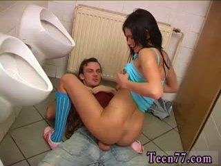 Debbie Torn Up In Public Toilet