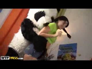 Sexy Dancing Turned To Orgy With Panda