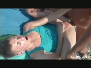 Two Horny Guys Fuck Hard By The Lake