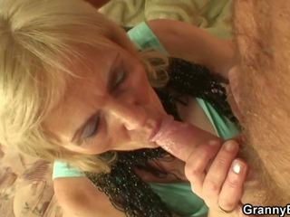 Skinny Old Prostitute Swallows His Horny Cock: Free Porn 2a