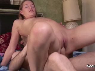 German daughter seduce not her Step-dad to fuck her