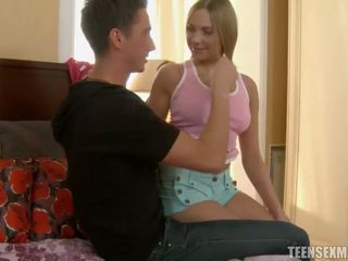 Teen getting gaped