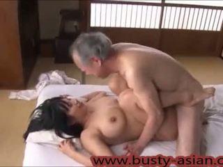 tetas, corridas, japonés, pussyfucking