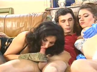 An Orgy with professional hookers