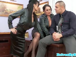 European assfucking threeway with Anissa Kate