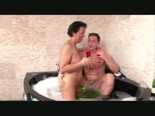Couple Having Steamy Sex In The Bathtube