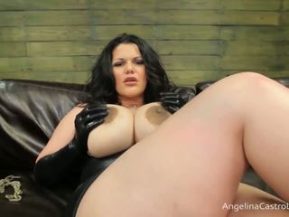 Stor titted angelina castro cocks dominering!
