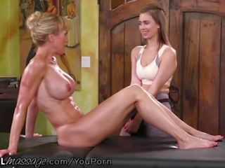Old and young lesbian porno