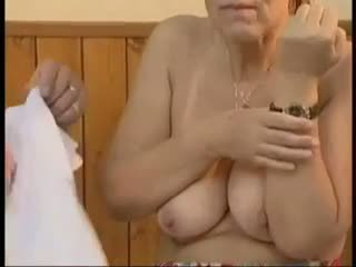 grannies, gammel + young, ansikts, anal
