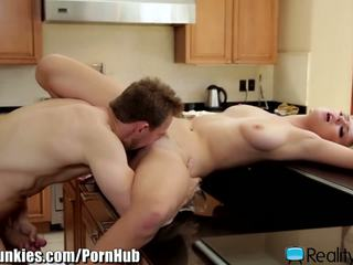 RealityJunkies Natalia Starr Fucked Hard in the Kitchen