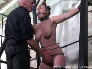 Taylor Hearts extreme tit torture and gagged