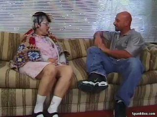 Nenek gets reamed oleh muda lelaki
