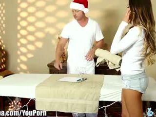 Trickyspa august ames cheats dengan masseur: ahli fantasy