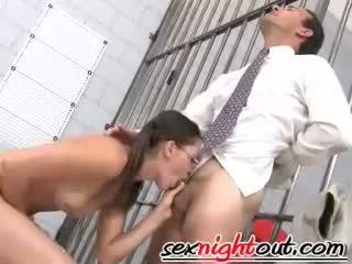 brunette, blowjobs, doggystyle, blowjob