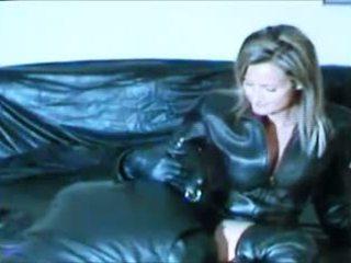Mistress & stooge leather