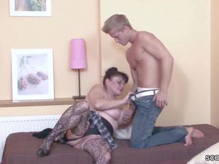 Young Boy Seduce His Grandma to get First Fuck: HD Porn b3