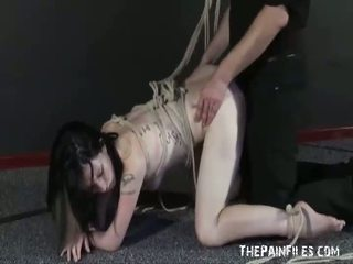 Slavesex of Fucked Up Fae Corbin in rough hardcore
