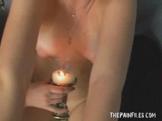 エロチック レズビアン ボンデージ と あったにしない ホット wax フェティッシュ