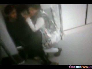 Sucking Her Man On The Train