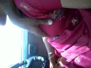 Tamil Aunty In The Car Masturbating Guy