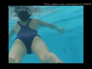 Ai Shinozaki Gravure Idol Blue Swimsuit