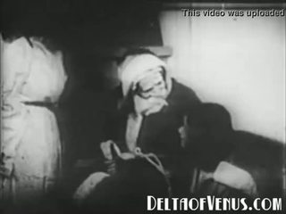 Σπάνιος 1920s αντίκα χριστούγεννα πορνό - ένα χριστούγεννα tale