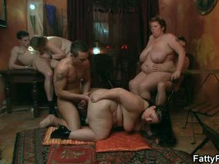 full party sex, watch bbw gangbang rated, bbw group rated