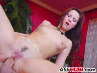 Claudia rossi gets ruw anaal