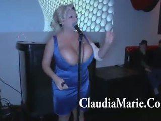 To tits claudia marie singing và sau đó fucked lược qua bbc