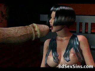 Evil Creatures vs 3D Babes!