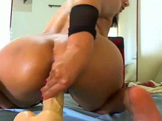 Latina-anal-dildo-fisting