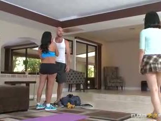 Brazzers - mom helps her step daughter get some jago