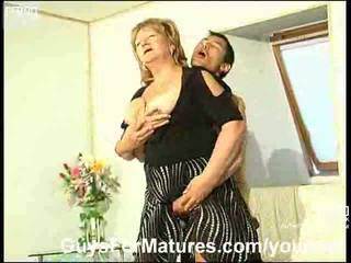 blondes, older, doggy style, mature