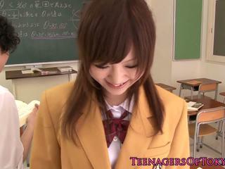 japonês ver, novo adolescentes, grátis asiático