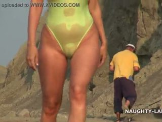 hottest beach new, online flashing, any public best