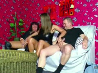 Mom And Dad Seduce Young Step-Daughter To Threesome