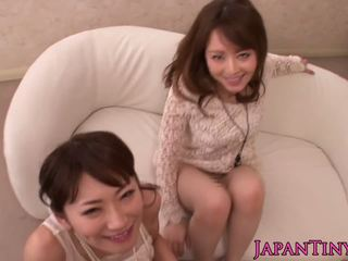Nippon Babe Squirting While Fingered in Trio: Free Porn a8