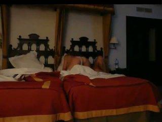 Hidden cam caught horny parents fucks in bed
