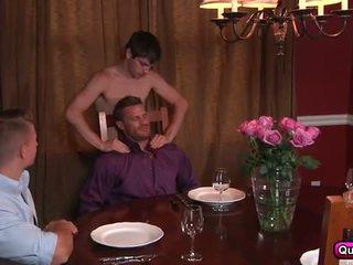 cara, homossexual, músculo