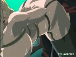 Suženjstvo hentai s velika joški gets an enema vbrizganje