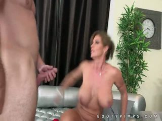 Hanger tits Eva Notty doggystyle sex