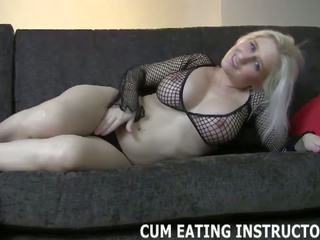 Cum for Me and then Swallow it Down CEI, Porn cc