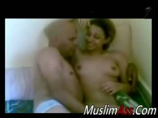 Arab Chick Having Sex With Older Man