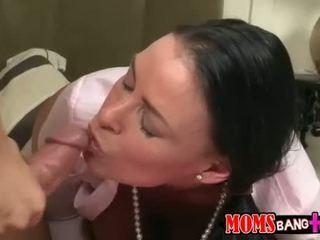 rated si rambut coklat semua, penuh fucking panas, sebenar seks oral menyeronokkan