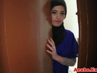 Arabiska amatör beauty pounded för kontanter, porr 79