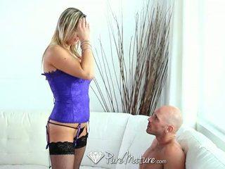 blowjob, big tits, sa turing mature saya
