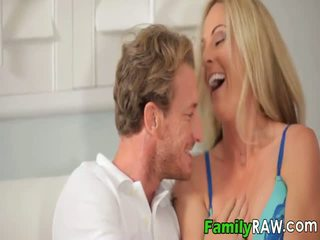 Hot blonde swingers are cousin and like each other