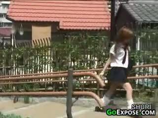 יפני, מתחת לחצאית, תחתונים קצרים